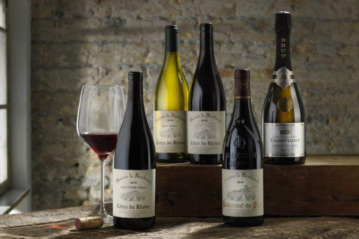Årets vinpakke 6 - med rød og hvidvin - 5 flasker