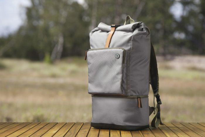 Birk rygsæk recycle grå