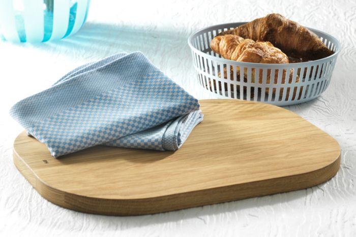 HAY køkkenpakke med brødkurv, skærebræt og 2 viskestykker
