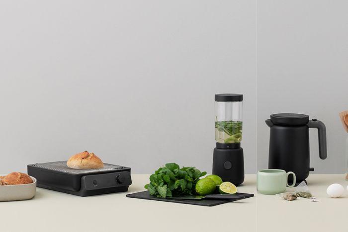 Stelton RIG-TIG Foodie toaster, elkedel og blender