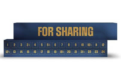 Simply julekalender for sharing - 60 stk