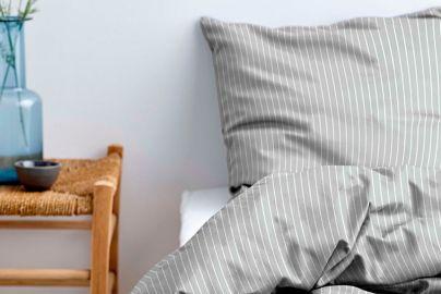 Södahl økologisk sengetøj 2 sæt - grå - 140x200
