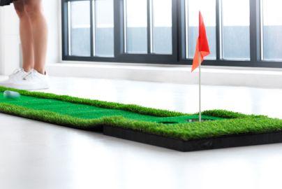 Minigolf Putting green