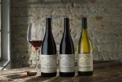 Årets vinpakke 3 - med rød og hvidvin - 3 flasker