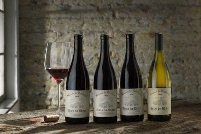 Årets vinpakke 4 - med rød og hvidvin - 4 flasker