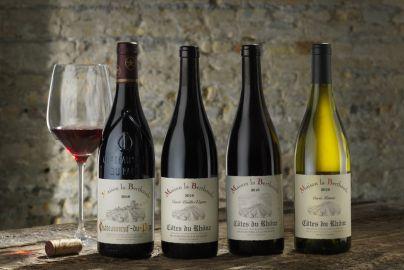 Årets vinpakke 5 - med rød og hvidvin - 4 flasker