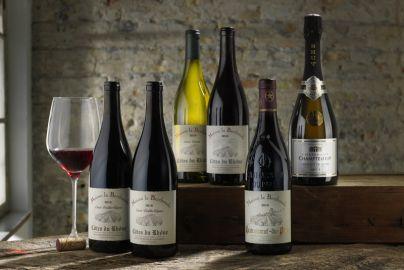 Årets vinpakke 8 - med rød og hvidvin - 6 flasker