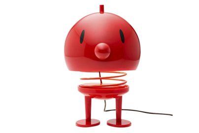 Hoptimist lampe rød H23