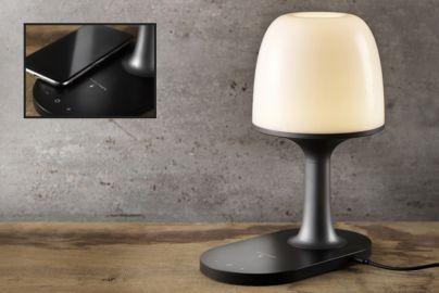 Hi5 bordlampe med indbygget oplader