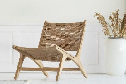 Hornbæk lounge stol teak træ 2.0