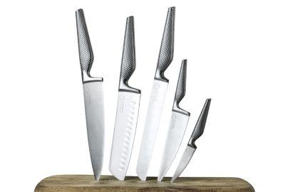 Jesper Koch knivsæt 5 stk recycle stål