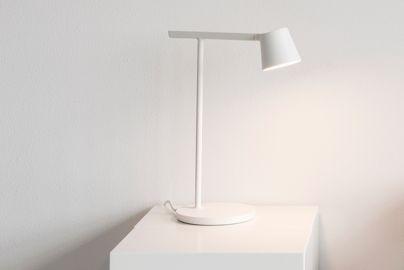 Muuto Tip bordlampe hvid