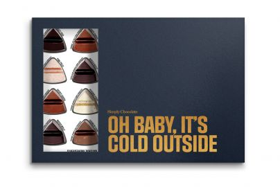 Simply Chocolate, OH BABY IT`S COLD OUTSIDE - 240 g