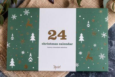 Xocolatl julekalender vinterland - 220g