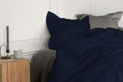 Georg Jensen Damask sengetøj - PLAIN kongeblå, 140x220 2 sæt