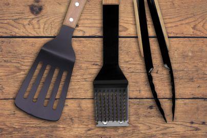 Grillin & Chillin BBQ grillsæt - 3 dele