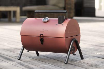 Grillin & Chillin BBQ smoker grill - rød