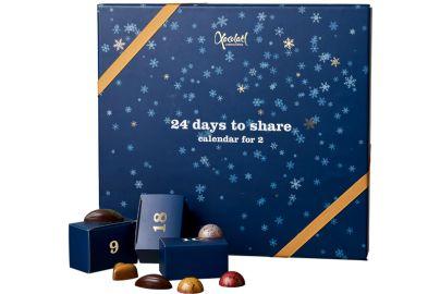 Xocolatl luksus julekalender for 2 personer - 400 g