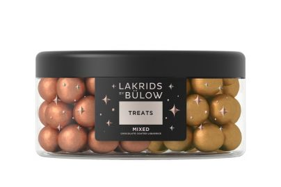Bülow lakrids large treats mixed classic gold - 550 g