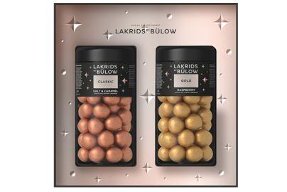 Bülow lakrids black box classic gold - 590 g