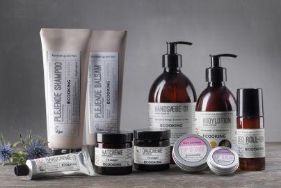 Ecooking plejepakke - 10 produkter til krop, hår og ansigt