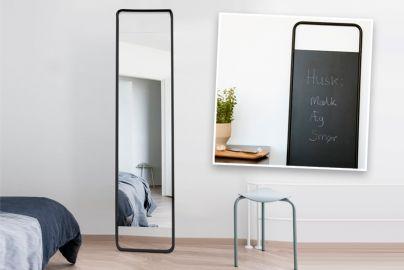 Menu Flip spejl og tavle