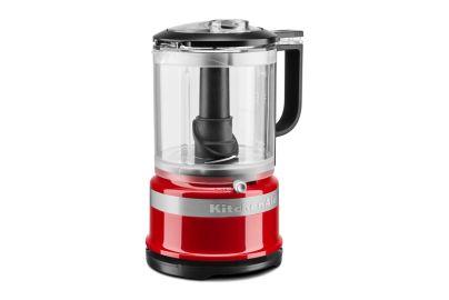 Kitchen Aid mini- foodprocessor med pisker - rød 1,2L