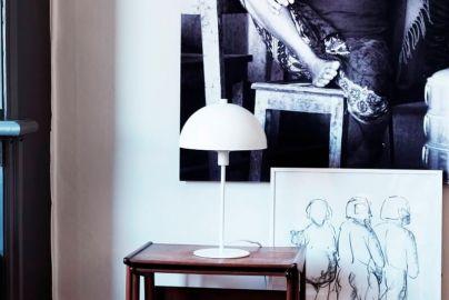 Dyberg Larsen Stockholm bordlampe - mat hvid H43