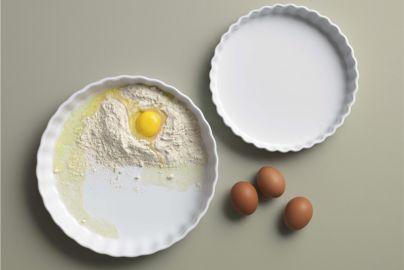 Aida Aroma hvid tærteformesæt