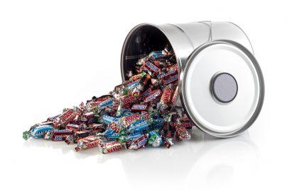 Metalspand med højttaler med Mars miniature 1300 g