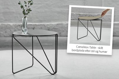 LINDDNA Curve Cameleon Table Hippo