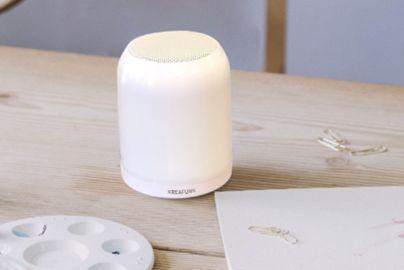 Kreafunk aGLOW mini - højttaler med lys og opbevaring