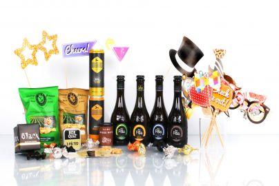 Festpakke med alkohol