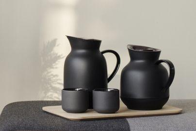 Stelton Amphora termokandesæt sort