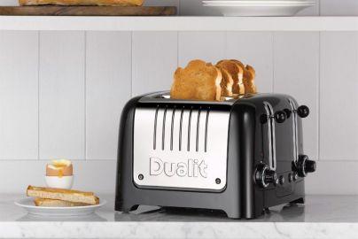Dualit toaster 4-skiver i sort