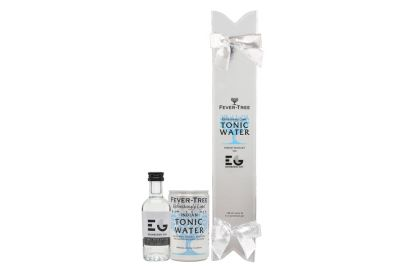 Fever-Tree cracker med Edinburgh Gin og Light Indian tonic