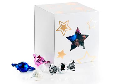 Starbox med chokoladeballs 1000 g