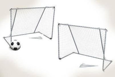 Fodboldmål + 1 bold