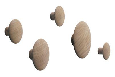 Muuto dots knager 5 stk - egetræ