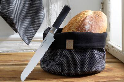 Georg Jensen Damask brødpakke med kniv – 3 dele