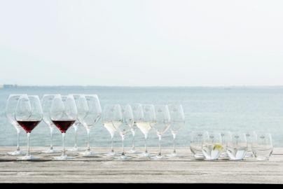 Mundblæst glaspakke fra Holmegaard - 18 glas