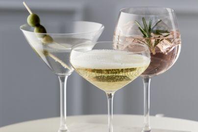 Lyngby Juvel drinksglas - 12 glas