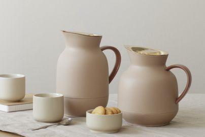 Stelton Amphora termokandesæt  peach