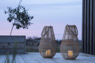 Lanterner med LED bloklys