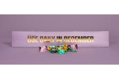 Simply julekalender Use daily in Dec. 30 stk. rosa - 300 g