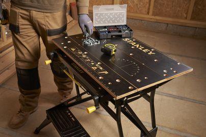 Stanley Black & Decker arbejdsbænk + værktøjskasse