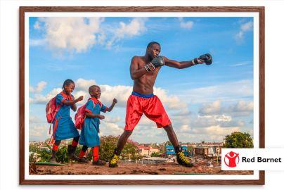 Vælg fotokunst i verdensklasse - og støt samtidig Red Barnet - Mål 40x50