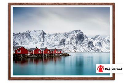 Vælg fotokunst i verdensklasse - og støt samtidig Red Barnet  - Mål 29x42