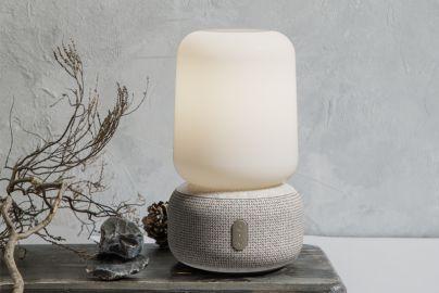 Kreafunk aLOOMI højtaler med LED og candle light