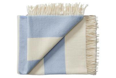 Silkeborg Uld Stilleben plaid blå